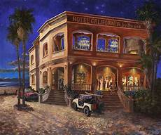 hotel california by the sea art by kennedy