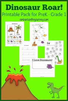 dinosaur printable and activity up