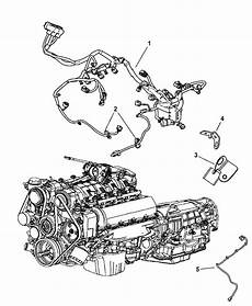 2006 jeep engine diagram 56048637aa genuine mopar wiring cradle