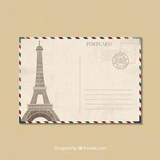 traditional postcard template postcard vectors photos and psd files free