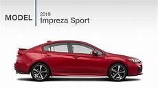 subaru sport 2019 2019 subaru impreza sport model review