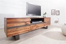 massivholz tv board massives baumstamm tv board genesis 160cm akazie