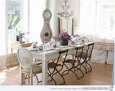 Esszimmer Shabby Chic - 35 beautiful shabby chic dining room decoration ideas