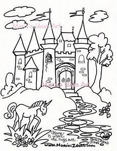 Malvorlagen Prinzessin Schloss Malvorlagen Burg Kunst F 252 R Kinder Prinzessin Schloss Kunst