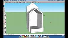 bird house plans for robins open box robin bird house plans youtube