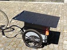 e bike anhänger e bike mit solarstrom laden copin solar ch