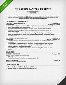 entry level nurse resume sle resume genius