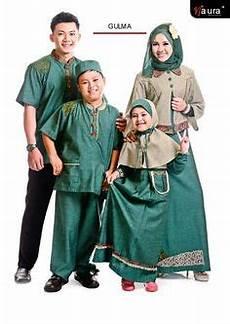 muslim couple keluarga ayah ibu dan anak trend baju dan muslim
