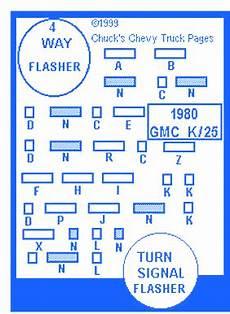 Chevy Deluxe 30 1980 Fuse Box Block Circuit Breaker