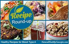 eat right for your type 7 recipes for blood type a healthy concepts with a nutrition bias