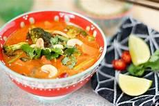 Vegetarisches Rotes Thai Curry Rezept Thai Curry Thai