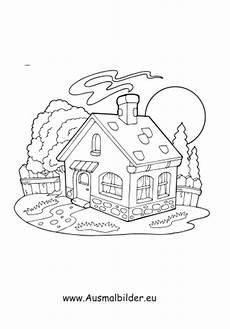Ausmalbilder Haus Und Garten Ausmalbild Haus Kostenlos Ausdrucken