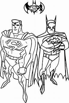 awesome batman vs superman coloring page batman coloring