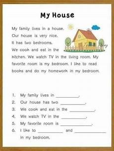 reading comprehension for kids interactive worksheet