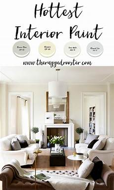 interior paint colors white picket farmhouse