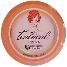 crema con 2 tuorli teatrical crema con rosas y lanolina 230 g cream with roses and lanolin walmart com
