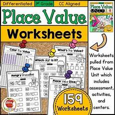 place value worksheets differentiated 5071 differentiated grade place value worksheets by bite size teaching