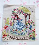 17 Best Images About Crinoline Ladies And Cottage Gardens