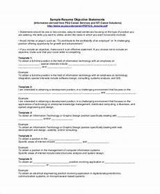 sle resume objectives pdf doc free premium