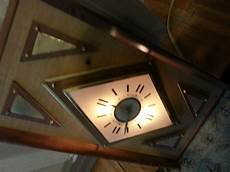vintage light up wall clock ebay