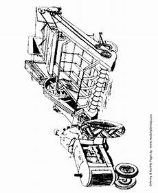 farm equipment coloring pages printable farmer on a hay