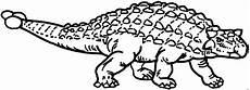 keulenschwanzdinosaurier ausmalbild malvorlage dinosaurier
