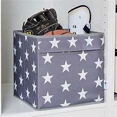 aufbewahrungsbox 30 x 30 x 30 cm polyester sterne