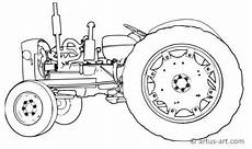 Gratis Malvorlagen Traktoren Ausmalbild Traktor Kinder Ausmalbilder