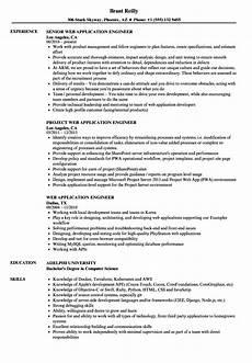web application engineer resume sles velvet