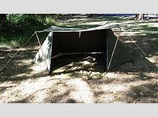 Whelen style tent from USGI shelter halves   sbtactical