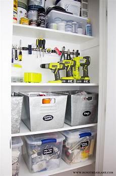 Tool Closet Organization Ideas