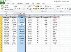 how to select entire column in excel or row using keyboard shortcuts