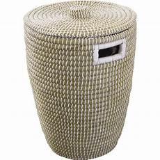 panier 224 linge fibre v 233 g 233 tale phuket naturel l 40 x h 52