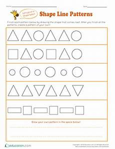 patterns grade 6 worksheets pdf 451 kindergarten shapes worksheets free printables education