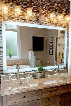 side lighted led bathroom vanity mirror 48 quot 36