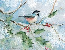 1000 images about christmas bird cards illustrations pinterest