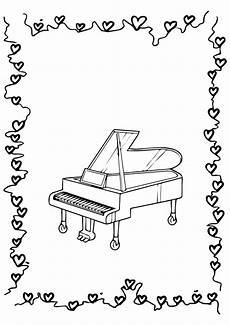 Gratis Malvorlagen Klavier Piano Klavier Ausmalbilder Malvorlagen 100 Kostenlos