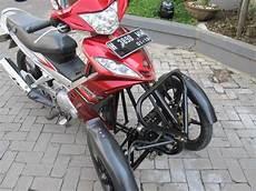 Modifikasi Motor Bebek Jadi Roda Tiga by Modifikasi Sepeda Motor 2 Roda Di Depan