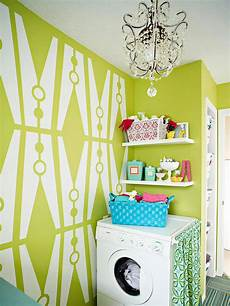 fun paint colors for laundry room