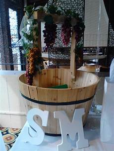 wishing well planter diy wine theme bridal shower in