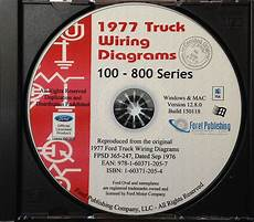 1977 Ford Truck Wiring Diagrams 100 800 Series Bronco