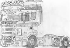 Ausmalbilder Lkw Scania Kleurplaten Scania V8 Logo Scania Greif V Will Nicht