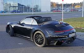 2019 Porsche 911 Cabrio Takes Its Top Off For The First