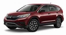 2016 Honda Cr V Se New Trim Level Top Features