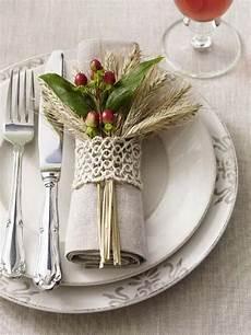 top 20 lovely diy napkin ring ideas for thanksgiving table