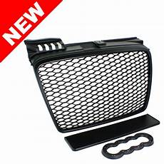 audi a4 b7 euro rs4 front sport hex honeycomb grill matte black rs 05 08 ebay
