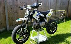 pit bike stomp 140cc supermoto race bike in leicester
