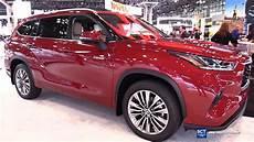 2020 toyota highlander 2020 toyota highlander platinum exterior interior