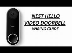 nest hello video doorbell wiring guide with no chime youtube