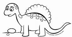 Gambar Dinosaurus Kartun Lucu